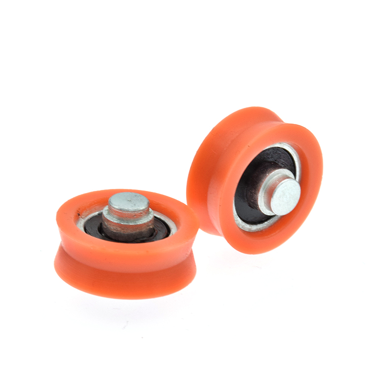 small v-groove wheels