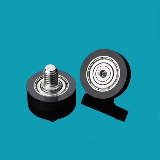 Screw Flat Bearing Pulley